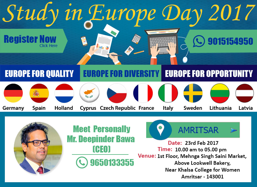 dsb-europe day-promotion-new-delhi